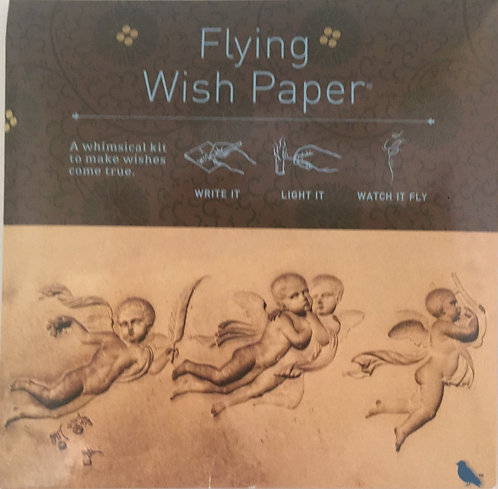 Flying Wish Paper -Cherubs