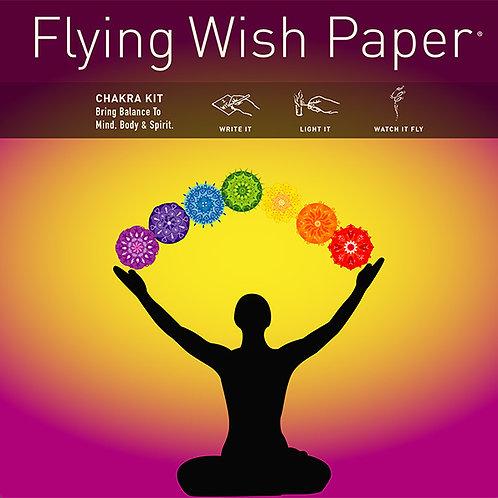 Flying Wish Paper - Chakra