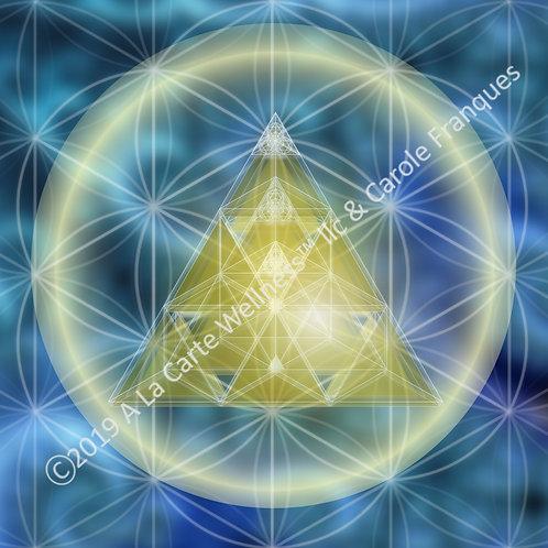 Golden Pyramid & Sacred Geometry