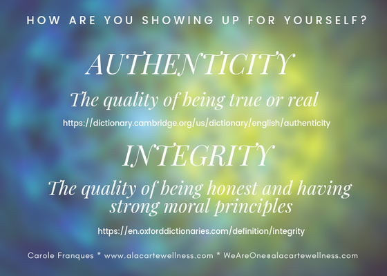 Authenticity, Integrity, Truth, Honesty