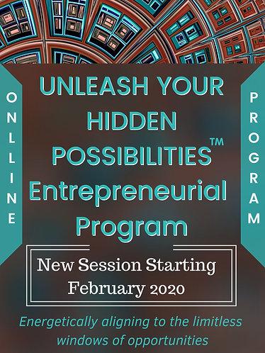 ENTREPRENEURIAL PROGRAM Unleash Your Hidden Possibilities™