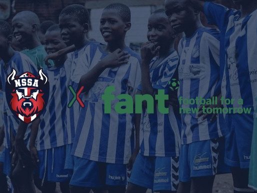 NSSA X FANT: Vi teamer op med Football For A New Tomorrow
