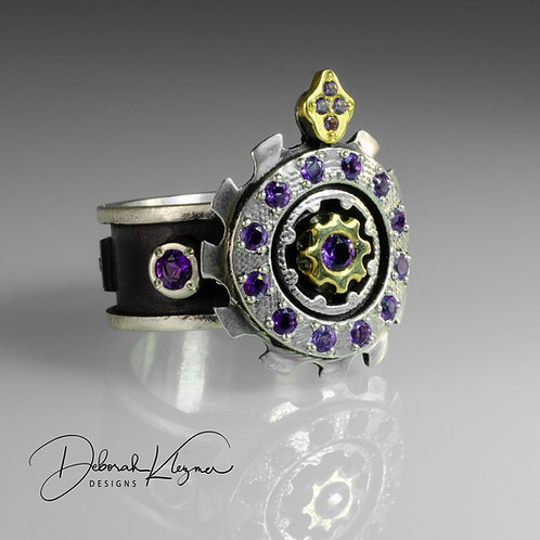 The Amethyst Queen Ring
