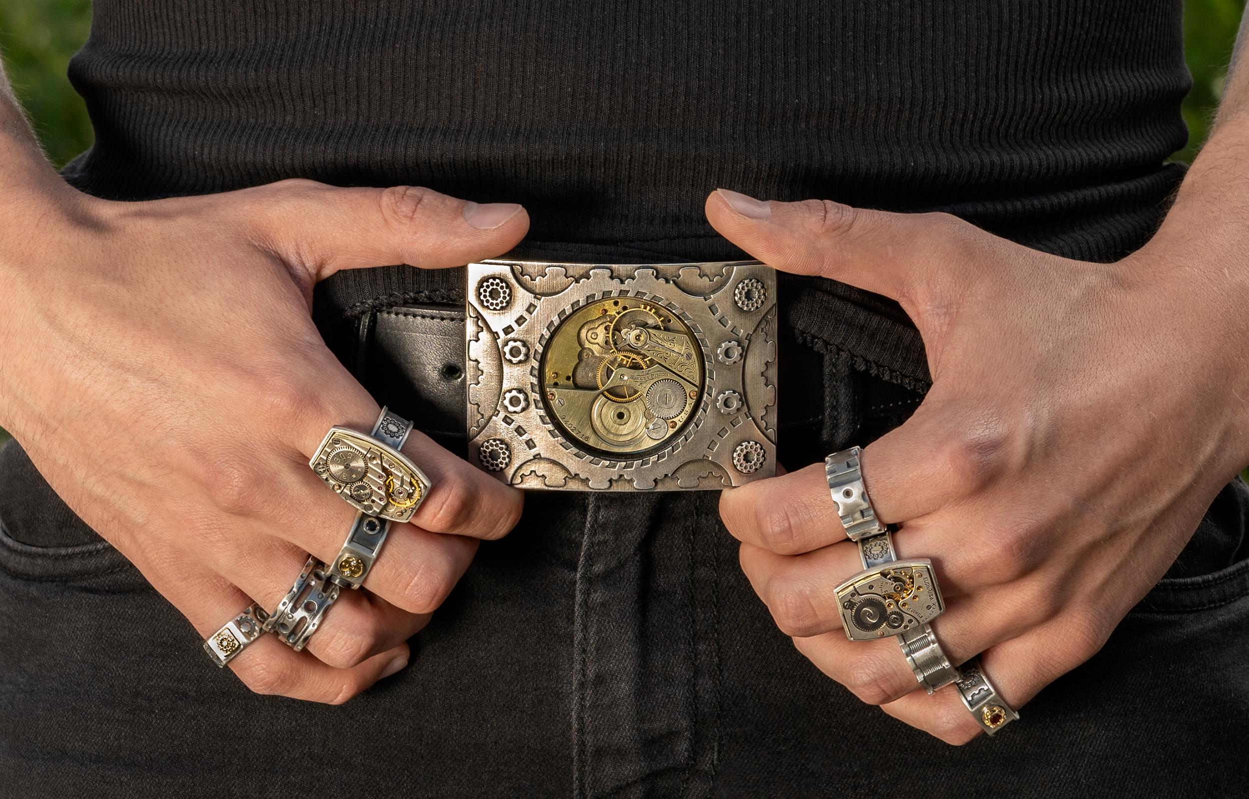 steampunkstyle-buckle-rings
