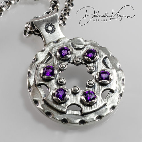 Proud Mary Necklace with Amethyst