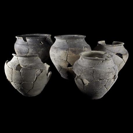 Pots de stockage