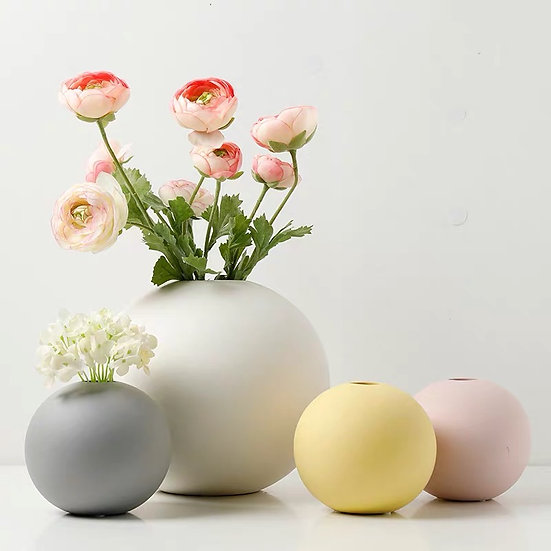 Sweetie Puff Vase (Set)