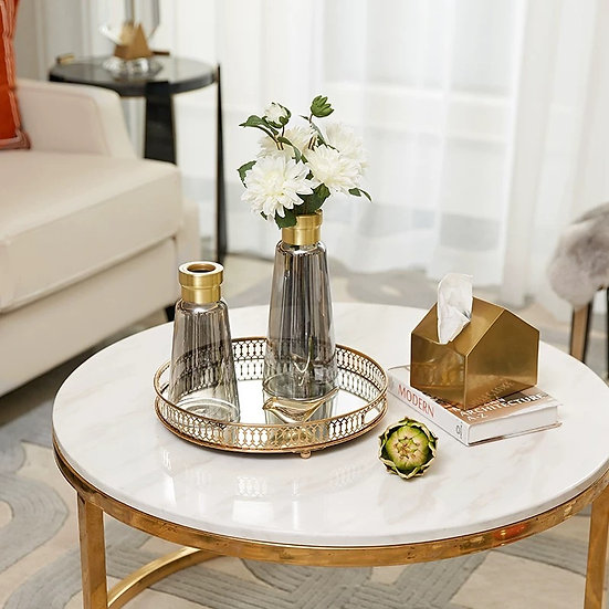 Clara Grey Glass Vase