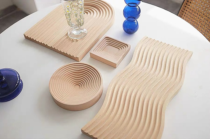 Nic Wooden Tray