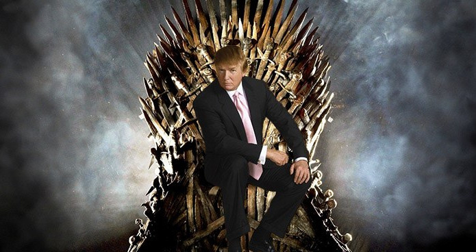 Donald Trump: The Mad King #GameOfThrones