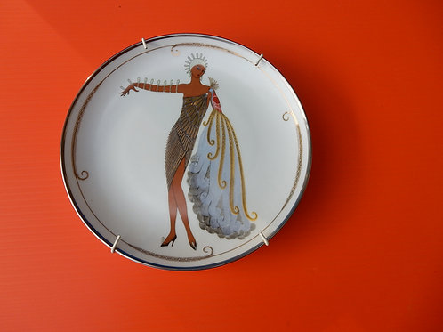 ERTE DECORATIVE PLATE