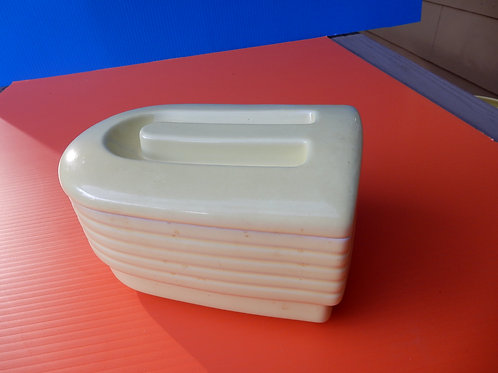 HALL YELLOW REFRIGERATOR DISH