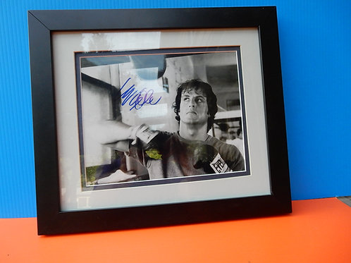 AUTOGRAPH OF SYLVESTER STALLONE