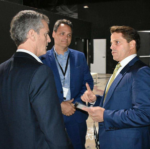 Kevin with Anthony Scaramucci and Dan Viola