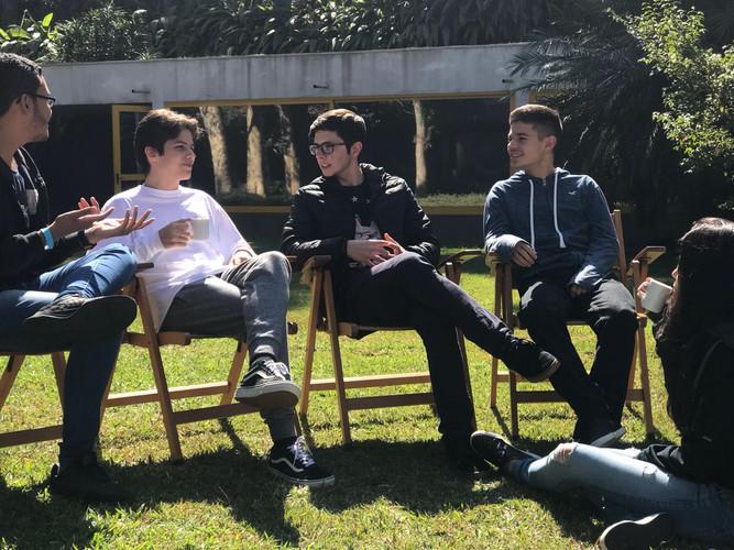 Students at Amana-Key