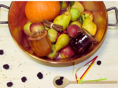 Podzim v marmeládovém hrnci aneb nechte promlouvat chutě a vůně pozdní sklizně ovoce