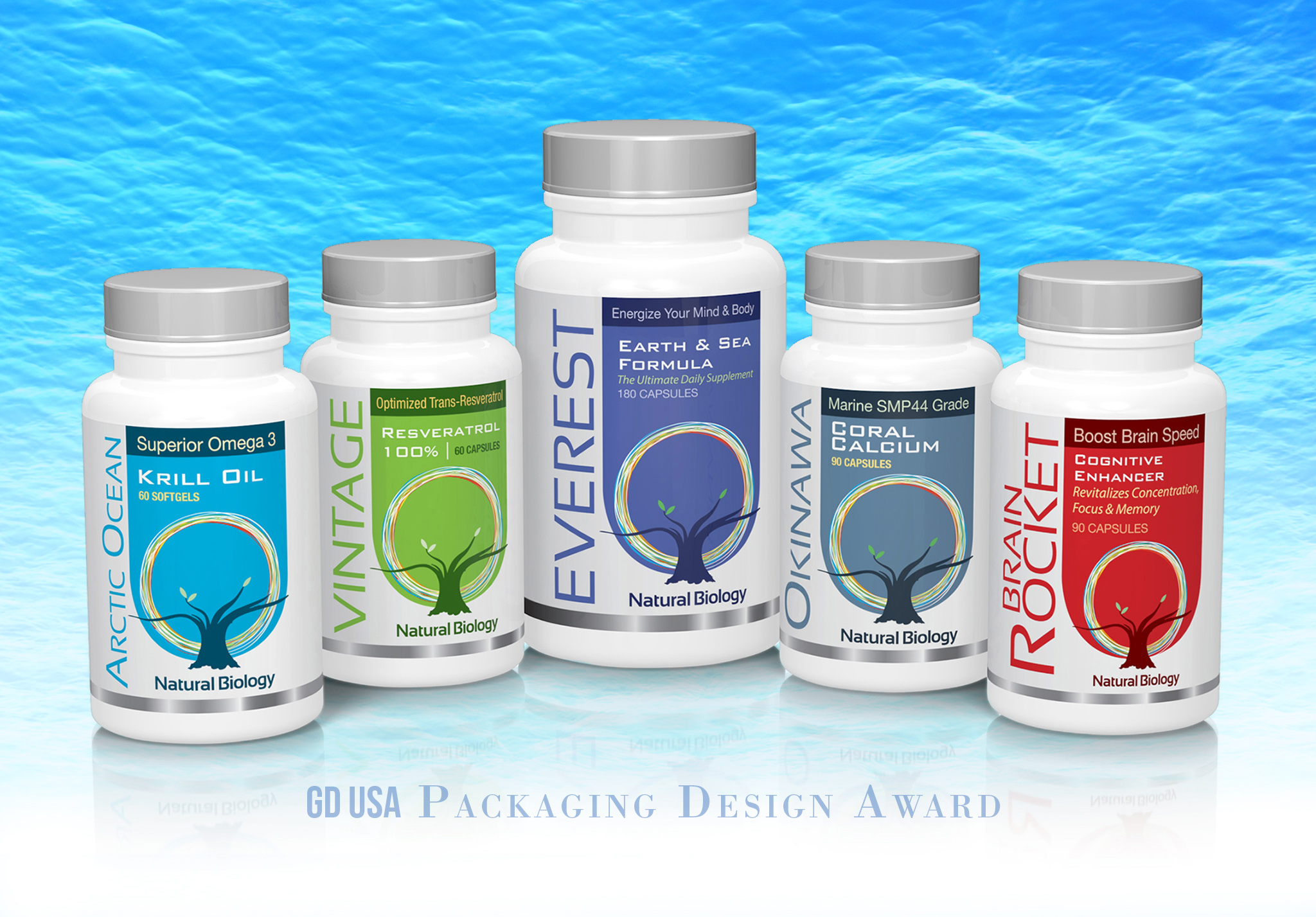 Supplement Label Design - Design Nin