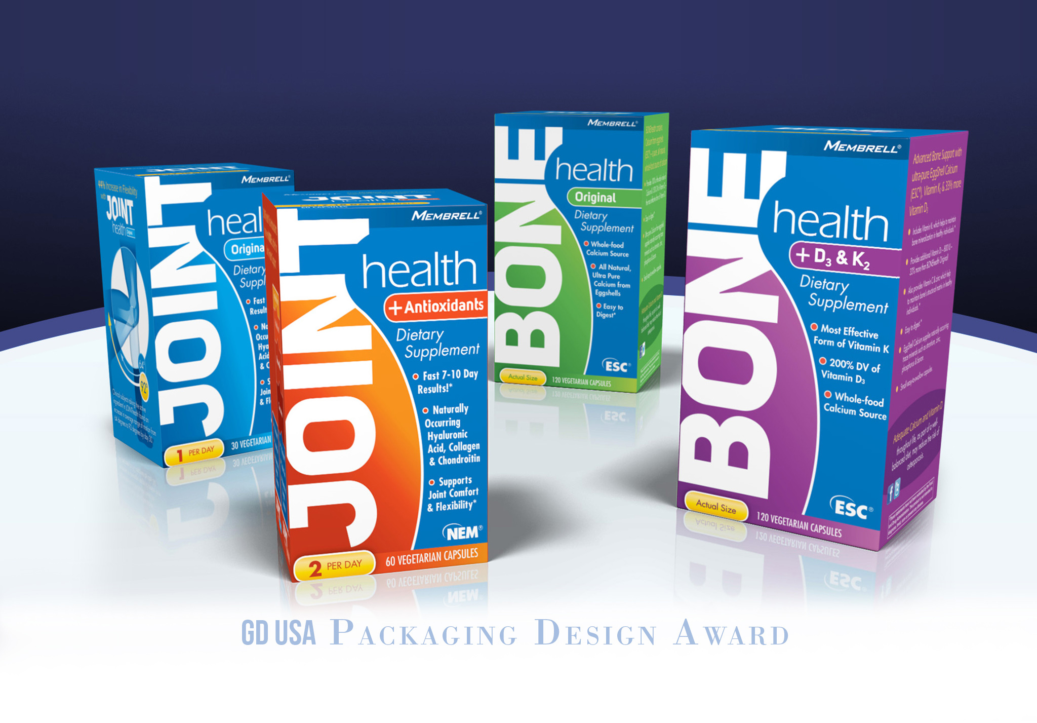 Box Supplement Design - Design Ninja