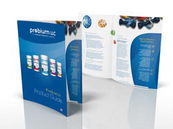 Natural Products Brochure Design