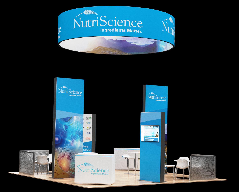 20x20 Tradeshow Booth NSI