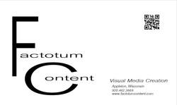 Factotum Content Design