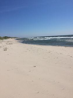 Boderne strand mod Rakhammer Odde