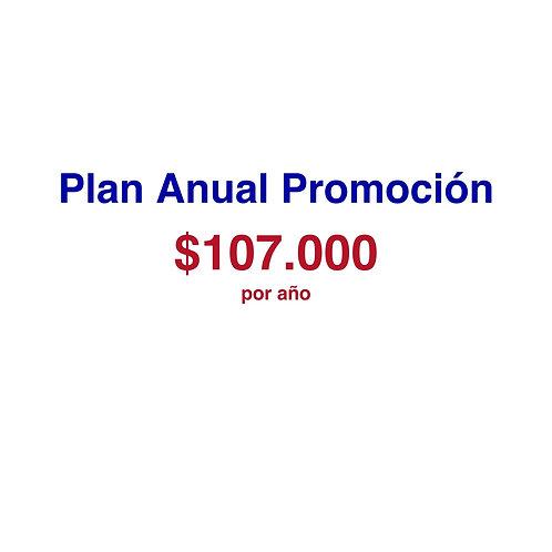 Plan Anual Promoción