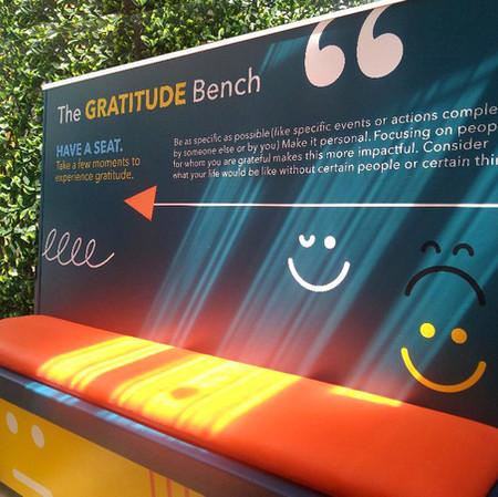 The Gratitude Bench
