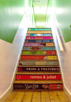 Loreto Dalkey's new stairwell.