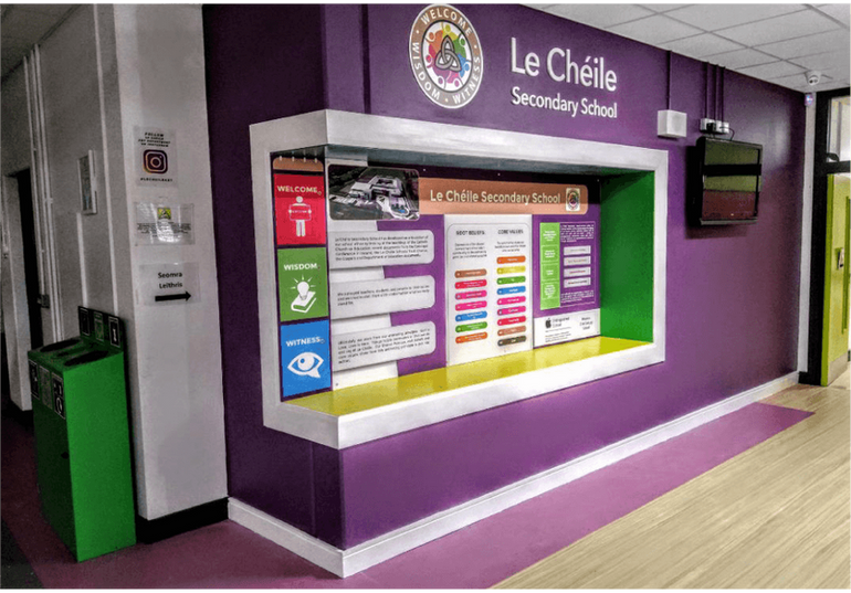 Le Cheile Reception Area transformation