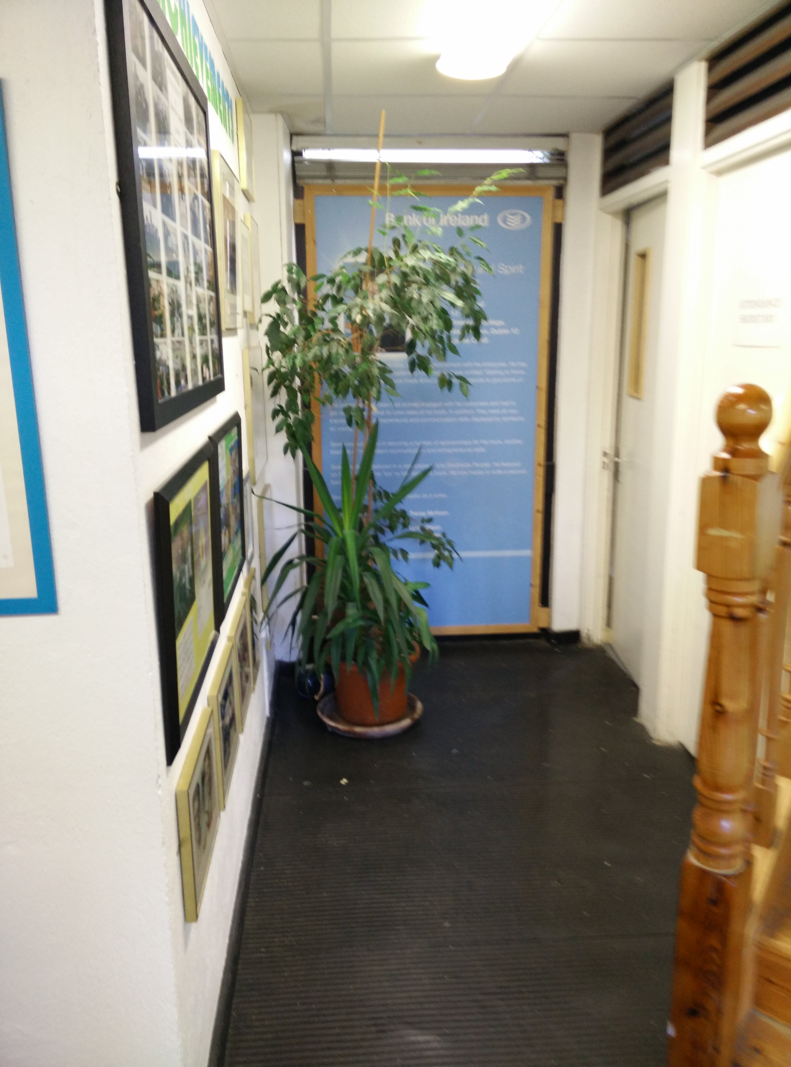 Entrance Hall - Before picture