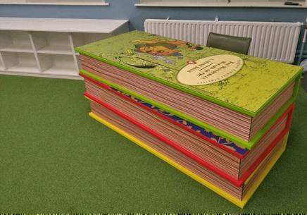 Custom desk for The Teresian School
