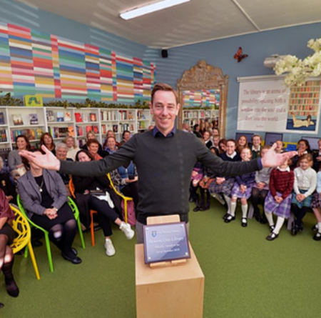 Ryan Tubridy at The Teresian School