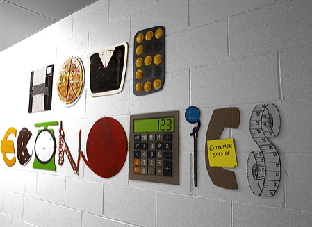 Home Economics Emotive lettering