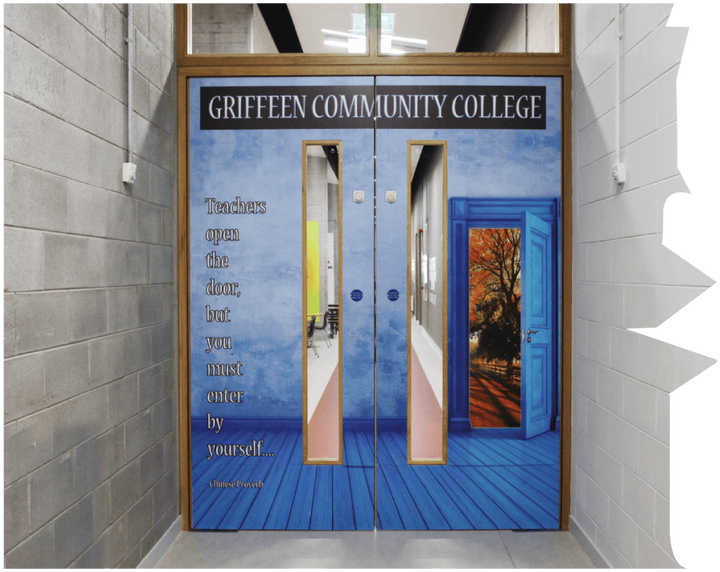 Magic doors at Griffeen Community College