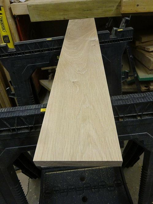 Kiln Dried Planed Oak off-cut 833mm x 142mm x 19mm