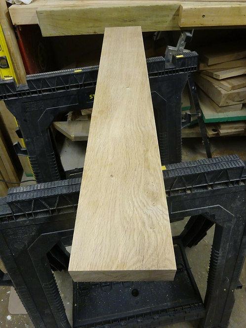 Kiln Dried Planed Oak off-cut 897mm x 136mm x 41mm