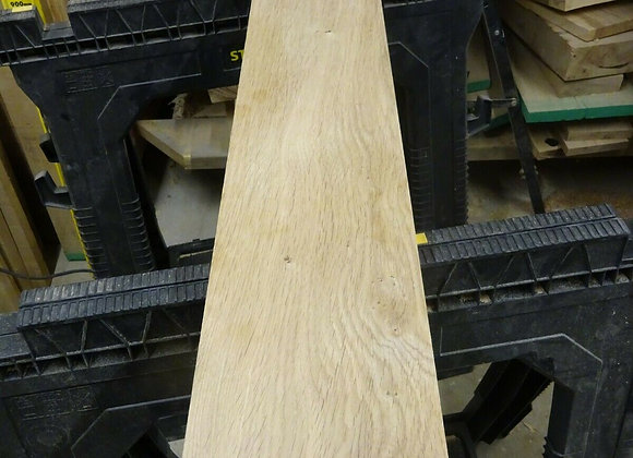 Kiln Dried Planed Oak off-cut 897mm x 136mm x 41mm