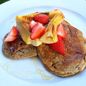High Fibre Pancakes
