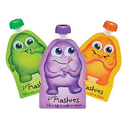 Little Mashies Re-usable Pouches