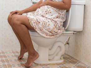 Crappy matters – constipation during pregnancy AND after pregnancy.