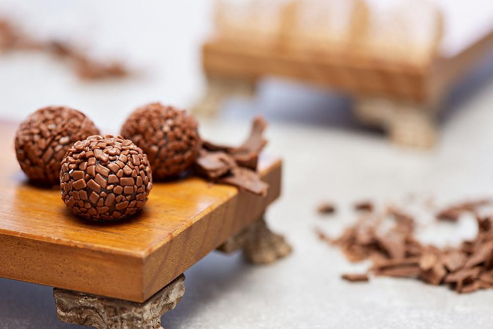 Brigadeiro de Chocolate Premium Para-TI Brigadeiros Ribeirão Preto