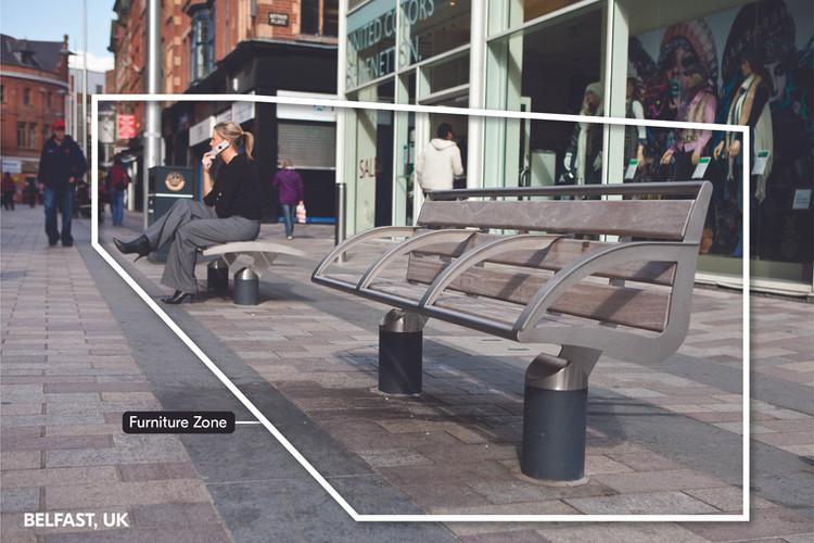 Transition from conventional street   Cork, UK
