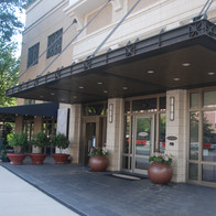 Herban Fix is one of several restaurants with outdoor dining on Peachtree Street.