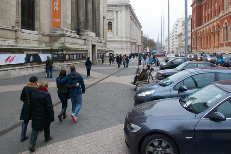 Exhibition Road   London, UK