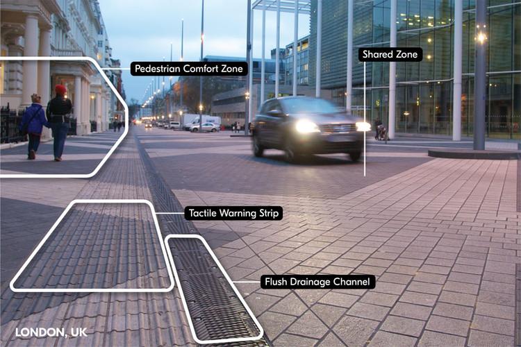 Exhibition Road Design Elements   London, UK