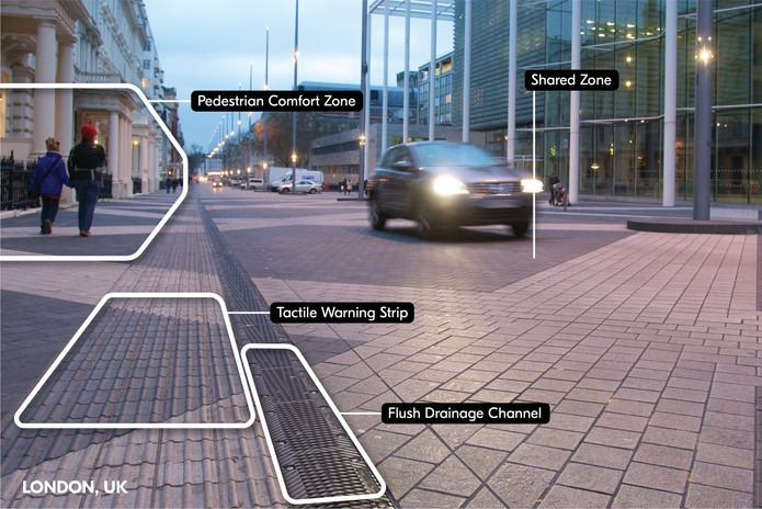 Exhibition Road Design Elements | London, UK