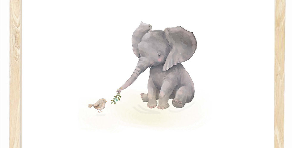 E - is for Elephant
