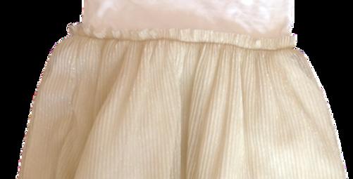 Soft golden tutu dress