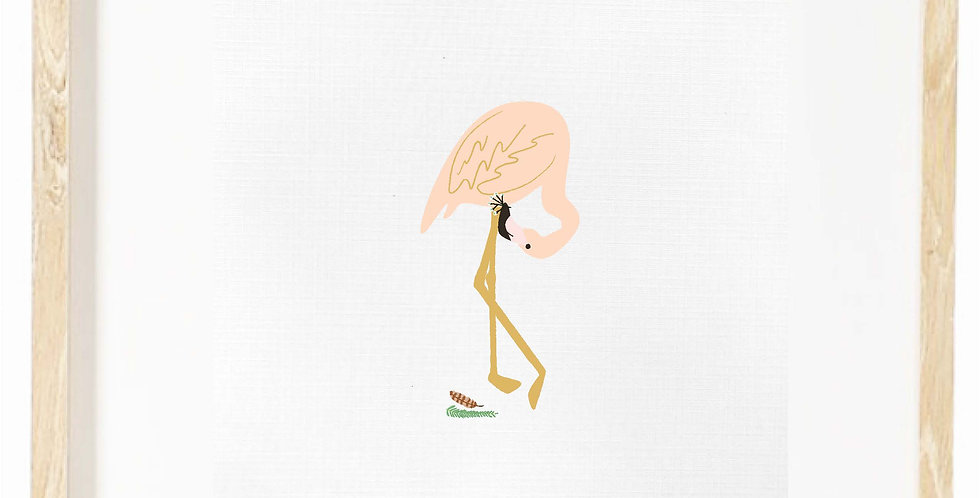 Flamingo - bowing